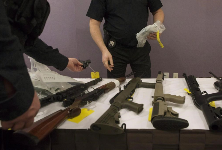 OPP officers, firearm, Ontario Provincial Police,