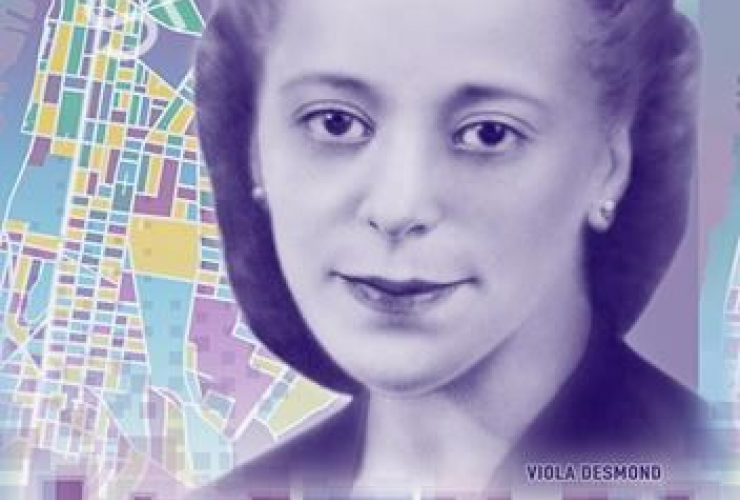sample, $10 Canadian bill, civil rights icon, Viola Desmond,