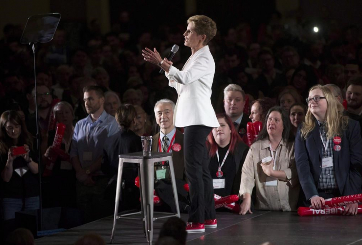 Ontario Premier, Kathleen Wynne, Ontario Liberal Party, AGM, Toronto,