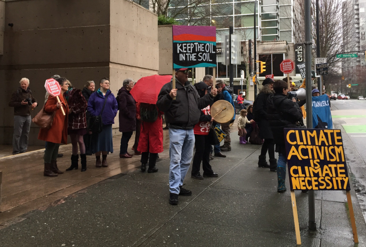 Kinder Morgan, injunction, B.C. Supreme Court, Trans Mountain expansion, Vancouver
