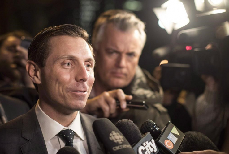 Ontario PC Leadership candidate, Patrick Brown, Ontario PC Party, Head Office, Toronto,