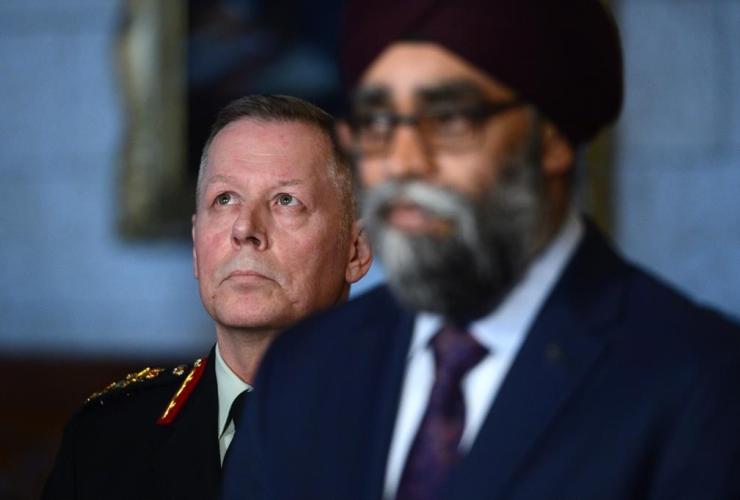 Defence Minister Harjit Sajjan, Chief of Defence Staff Gen. Jonathan Vance, Canada, peacekeeping mission, Mali,