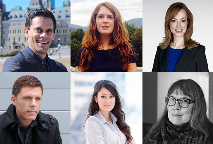 Patti Sonntag, Carolyn Jarvis, Rob Cribb, Elizabeth McSheffrey, Trish Elliott