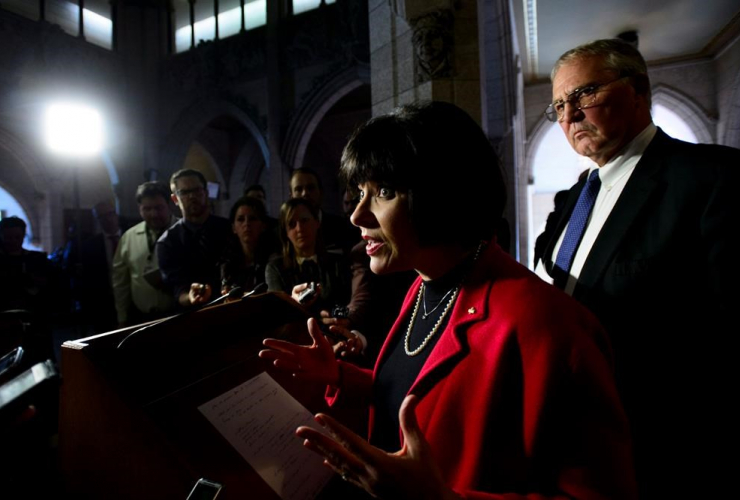 Ginette Petitpas Taylor, Federal Minister of Health, Bill Blair,