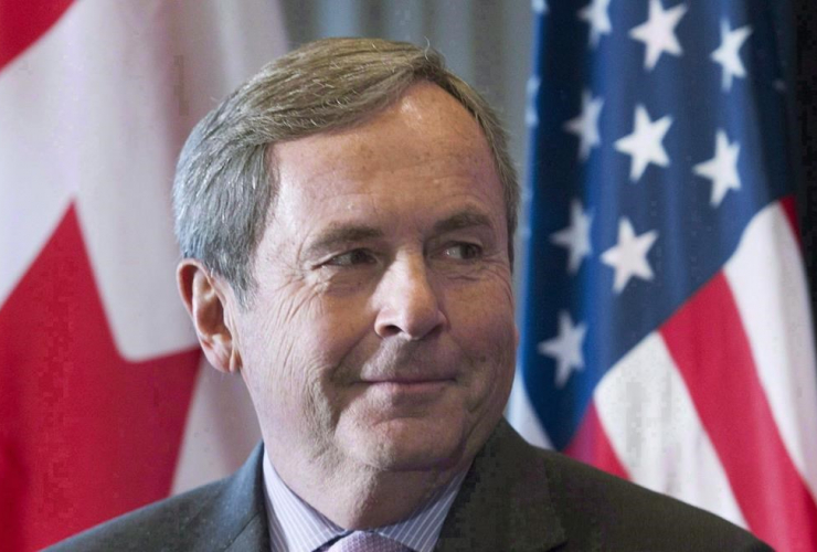 Canada's Ambassador, United States, David MacNaughton, business luncheon,