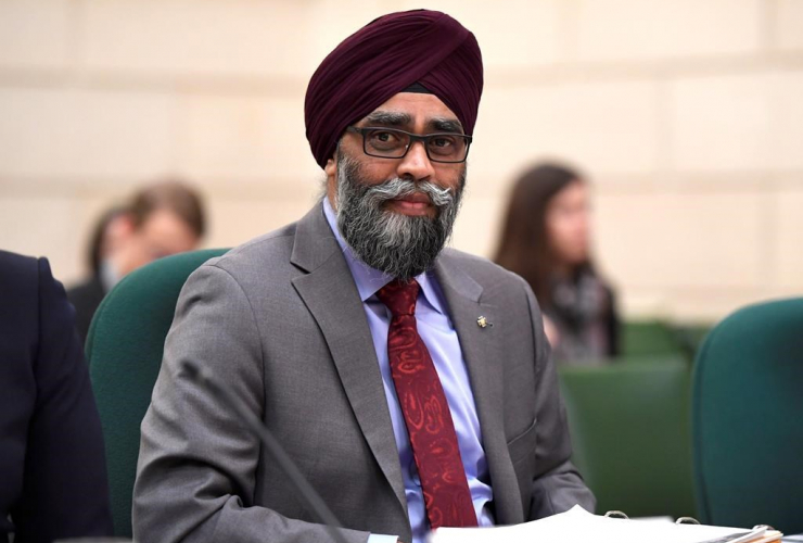 Harjit Sajjan, witness, Commons committee, Supplementary Estimates and Interim Estimates,