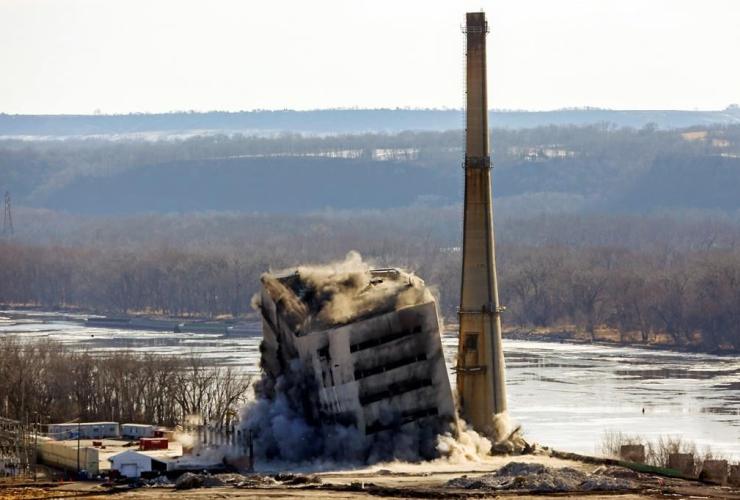 coal-fired, Nelson Dewey Generating Station, Cassville,