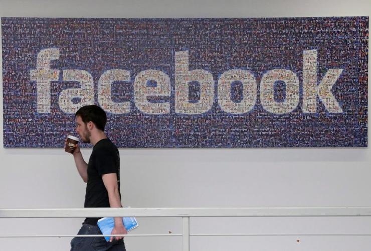 Facebook employee, Facebook headquarters, Menlo Park,