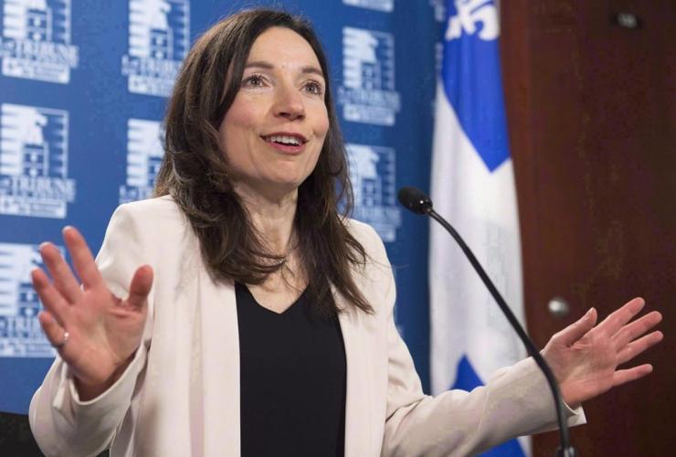 Bloc Quebecois, Martine Ouellet,