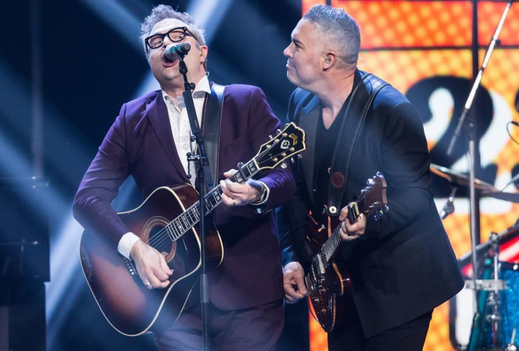Ed Robertson, Barenaked Ladies, Steven Page, Juno Awards, Vancouver,