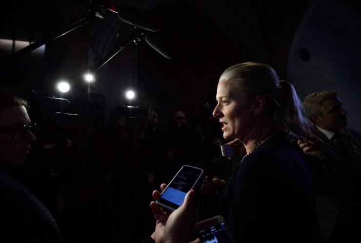 Minister of Environment and Climate Change, Catherine McKenna,