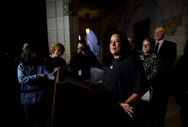 Justice Minister Jody Wilson-Raybould, criminal justice system,