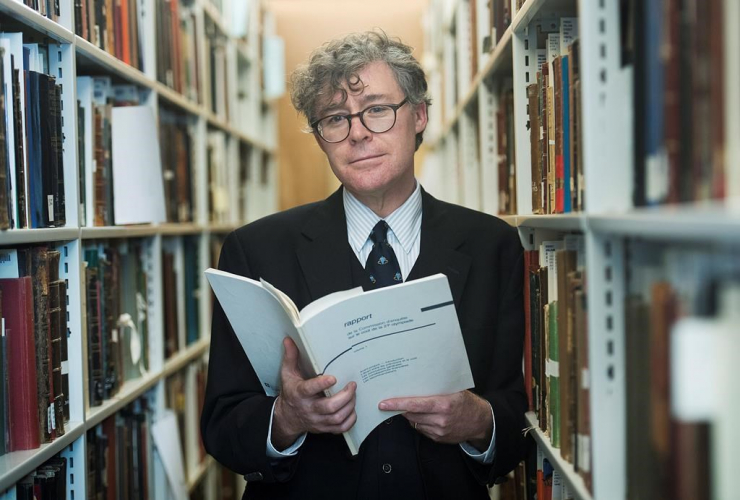 McGill University, head librarian, Christopher Lyons, Jean Drapeau, personal copy, Molouf report, 1976 Montreal Olympic, Montreal,