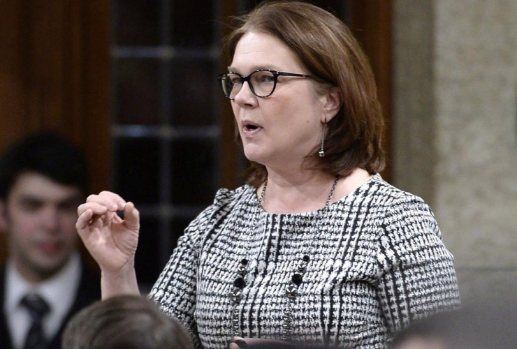 Minister of Indigenous Services, Jane Philpott,
