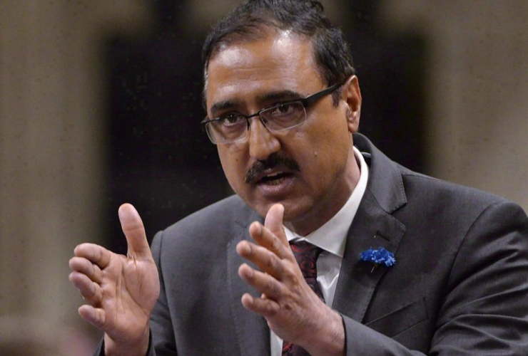 Minister of Infrastructure and Communities, Amarjeet Sohi,