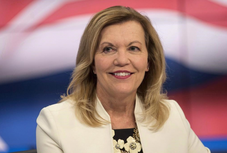Ontario, Conservative leadership candidate, Christine Elliott,