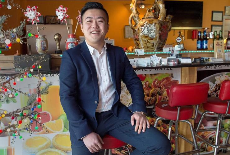 Yao Chen, realtor, Bai Wei Grill Bar,