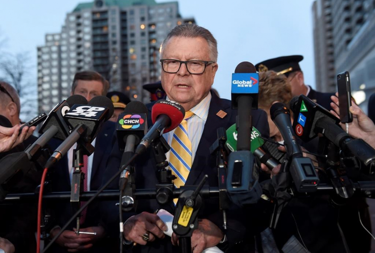 Ralph Goodale, Federal Minister of Public Safety and Emergency Preparedness,