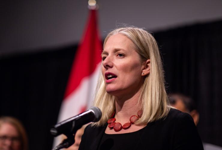Catherine McKenna, Museum of Nature, Ottawa