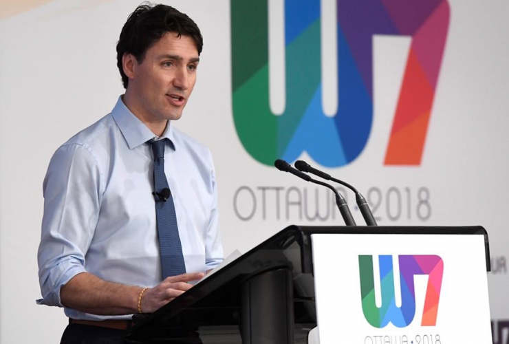 Prime Minister Justin Trudeau, W7, Feminist Visions, G7 meeting,
