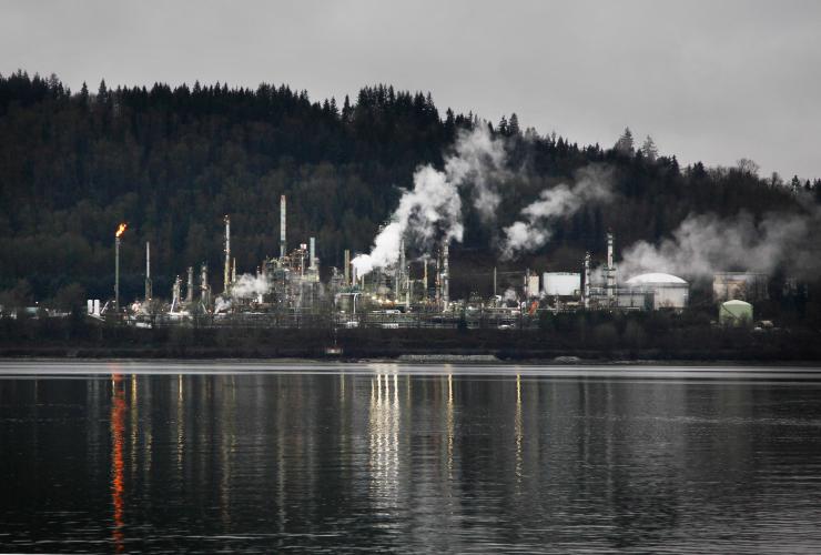 Chevron, Parkland, B.C., refineries, Canada, United States, Environment Canada