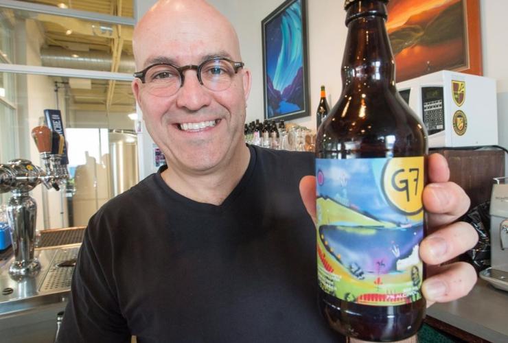 Frederick Tremblay, G7 beer, Microbrasserie Charlevoix,
