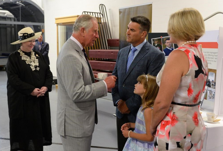 Steve Day, Prince Charles, CFB Trenton,