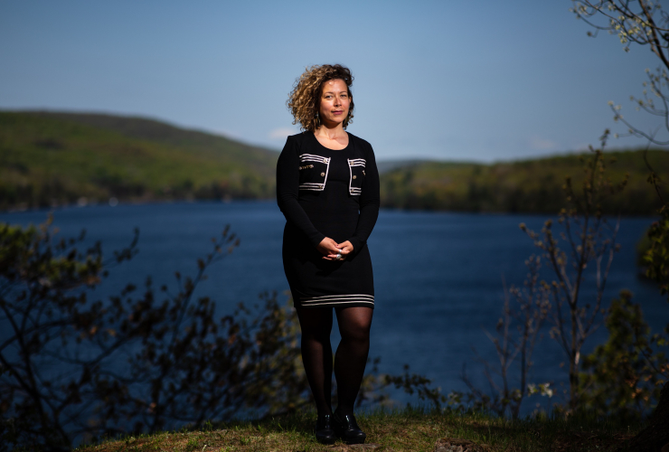 Catherine Abreu, climate action network canada, gatineau, Quebec, Meech Lake