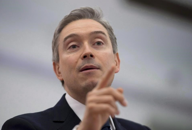 Minister of International Trade Francois-Philippe Champagne,