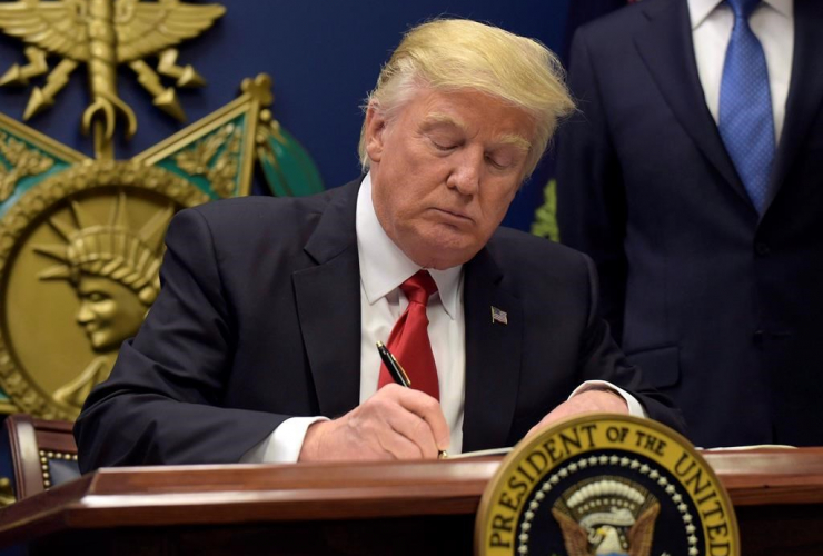 President Donald Trump, Pentagon,