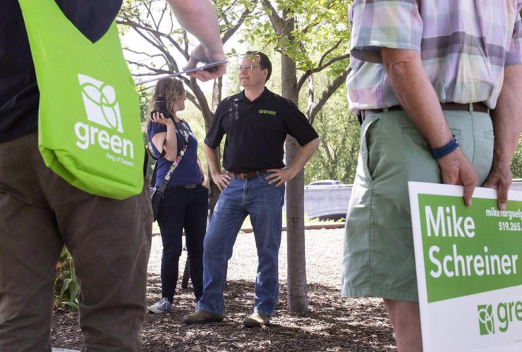 Ontario, Green Party Leader, Mike Schreiner, Guelph,