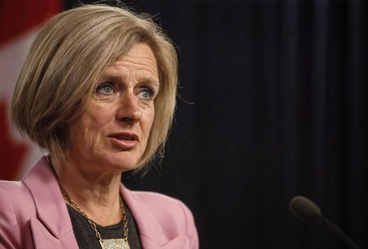 Alberta Premier Rachel Notley, Kinder Morgan pipeline,
