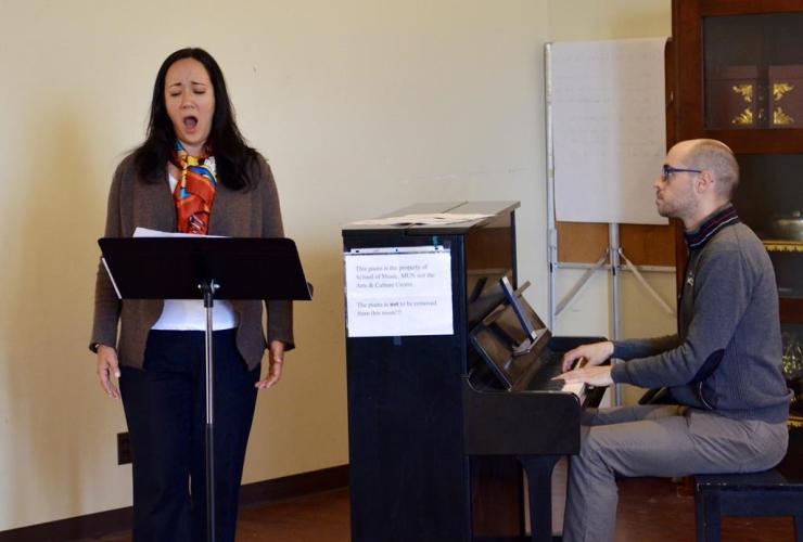 Canadian mezzo-soprano, Marion Newman, Shawnadithit, Beothuk people, Newfoundland,