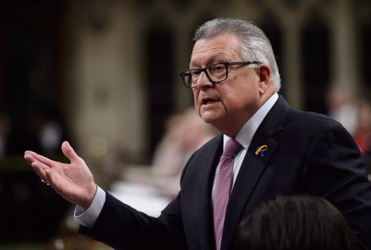 Public Safety and Emergency Preparedness Minister Ralph Goodale,