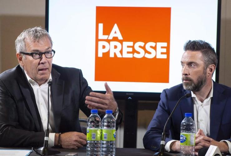 La Presse, publisher, Guy Crevier, Pierre-Elliott Levasseur,
