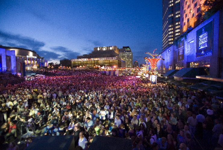 Montréal International Jazz Festival photo by Jocelynhade, Creative Commons