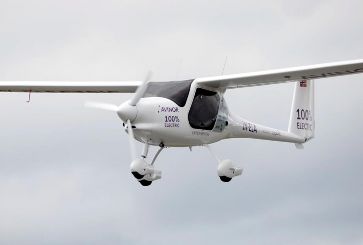 electric aircraft, Olso Airport, Gardermoen, Norway,