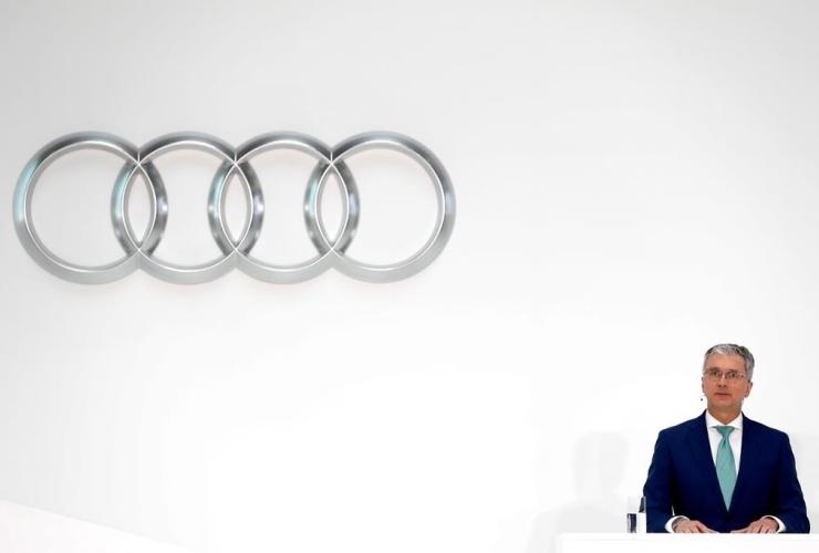 Rupert Stadler, CEO, German car producer, Audi, Ingolstadt, Germany,