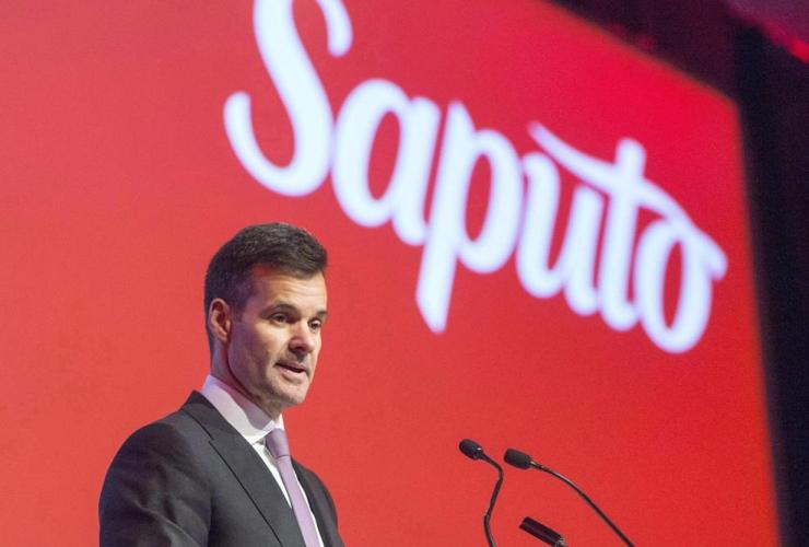 Saputo chief executive, Lino Saputo Jr.,