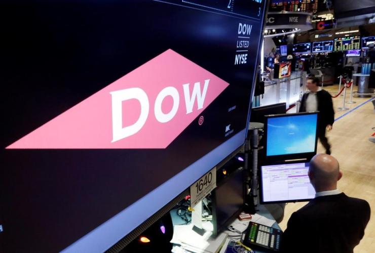 Dow, trading, New York Stock Exchange,