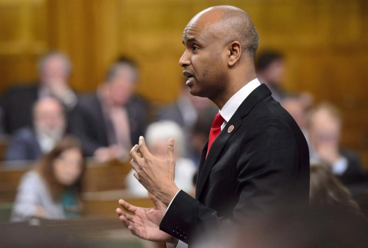 Minister of Immigration, Refugees and Citizenship, Ahmed Hussen,