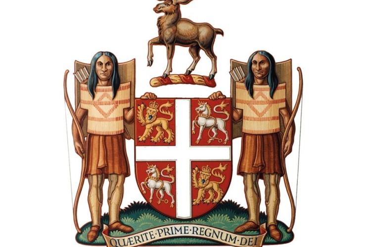 Newfoundland and Labrador, coat of arms,
