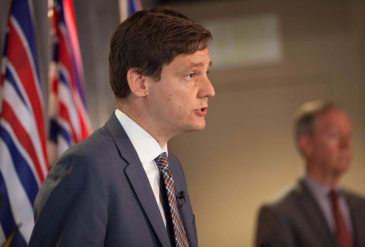 David Eby releases money laundering report. Photo supplied