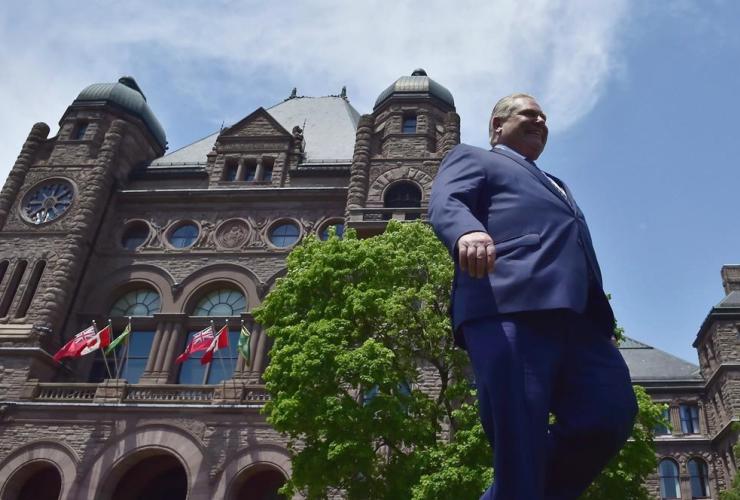 Ontario premier-elect Doug Ford, Ontario Legislature, Queen's Park, Toronto,