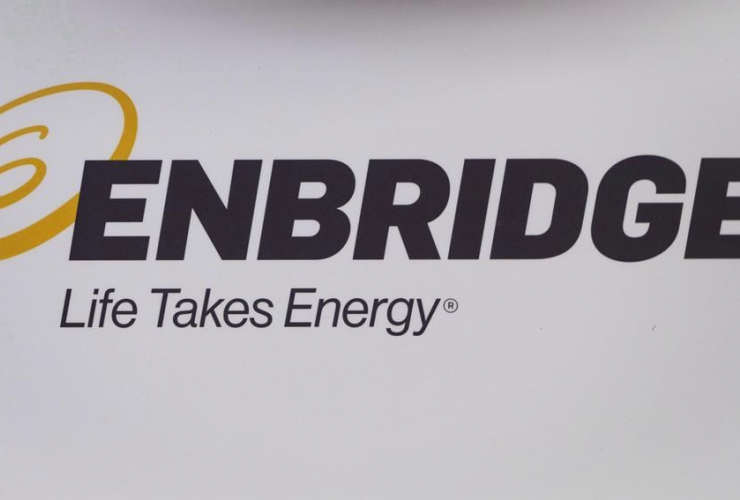 Enbridge logo,