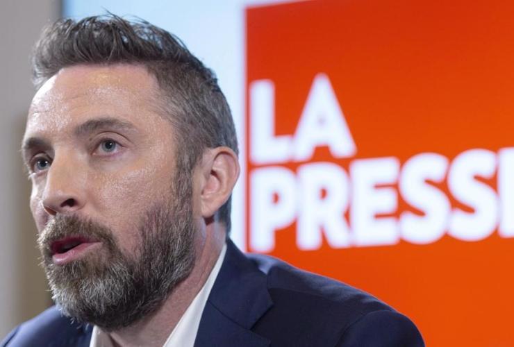 La Presse president Pierre-Elliott Levasseur,