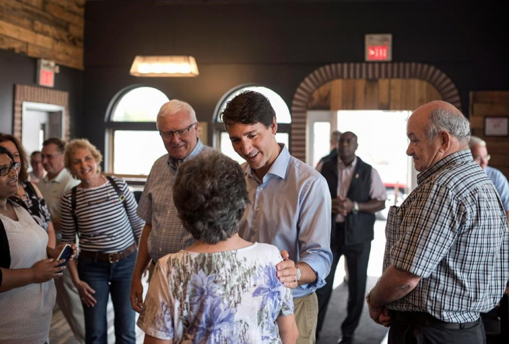 Prime Minister Justin Trudeau, Jimolly, Bakery & Cafe, Truro,