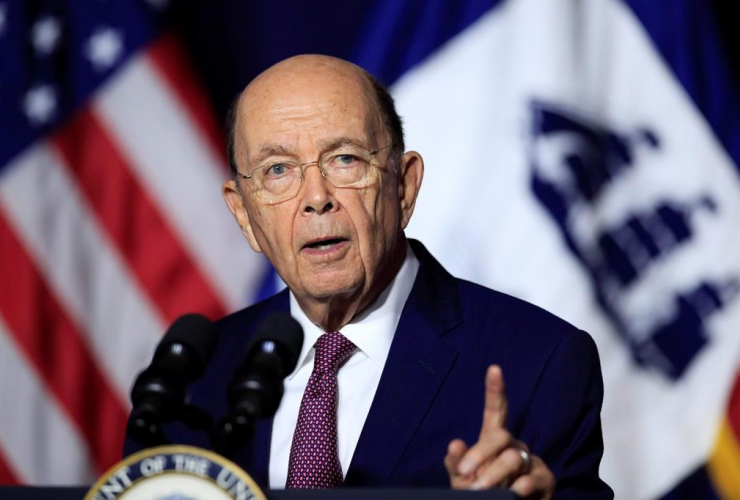 Department of Commerce Secretary Wilbur Ross, Department of Commerce, Washington, Balce Ceneta