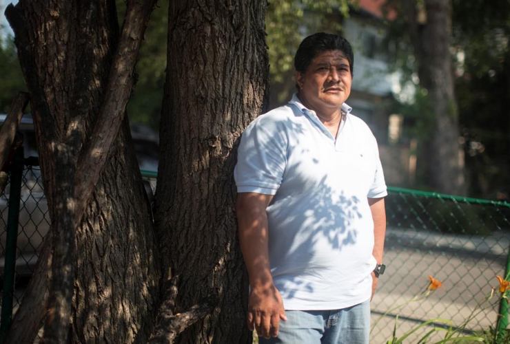 Carlos Zuniga, El Salvador, FCJ Refugee Centre, Toronto,
