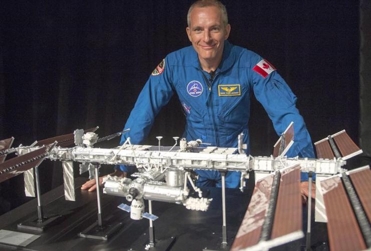 Canadian astronaut David Saint-Jacques, International Space Station, Canadian Space Agency, Saint Hubert,